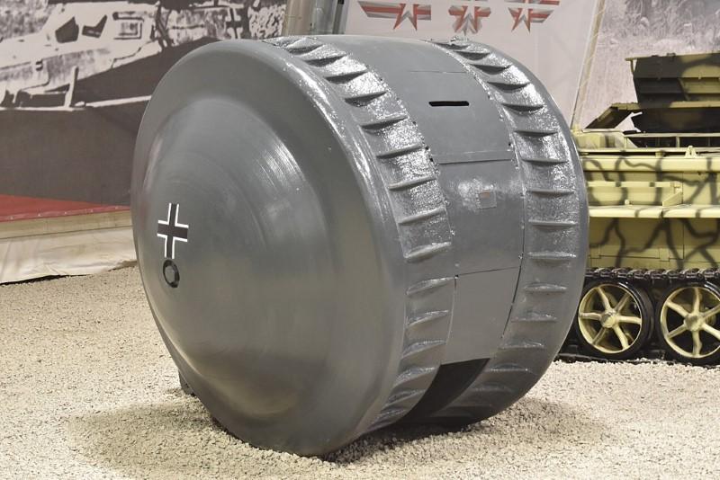 kugelpanzer - vreemde tank