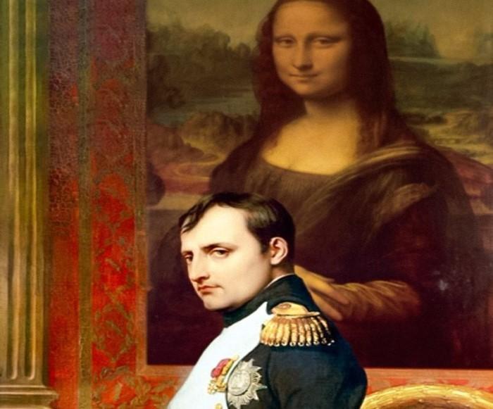 napoleon en de mona lisa