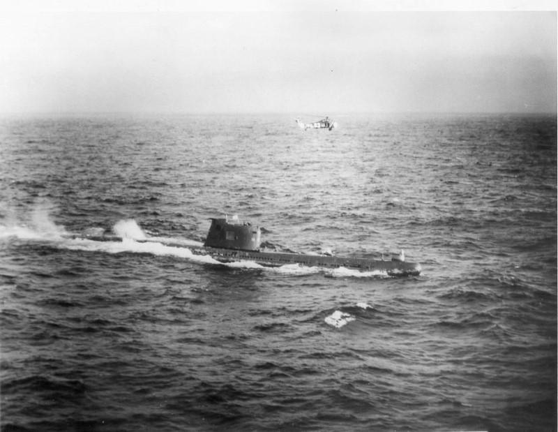 sovjet duikboot torpedo