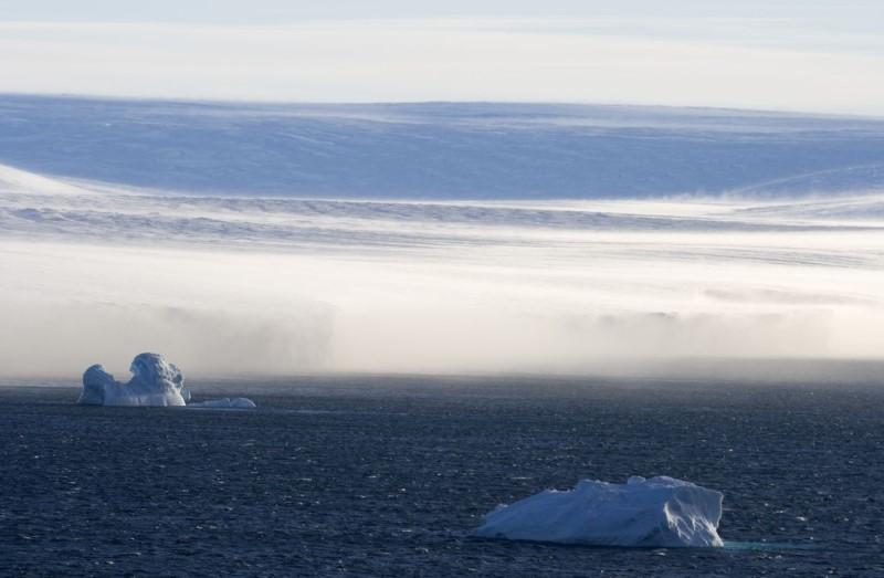 wind op antarctica