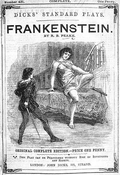 """Presumption; or, the Fate of Frankenstein"""