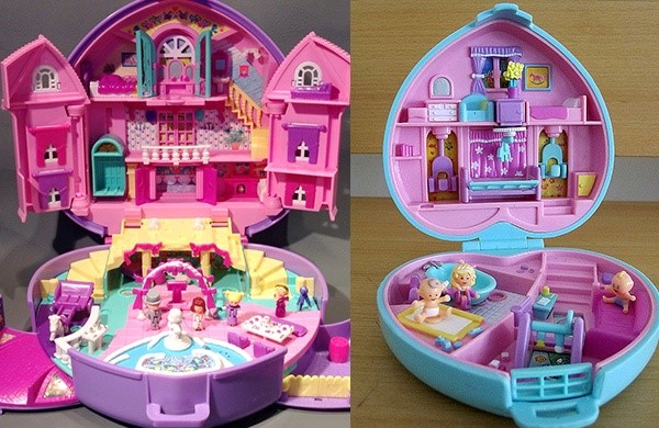 Polly pocket speelgoed