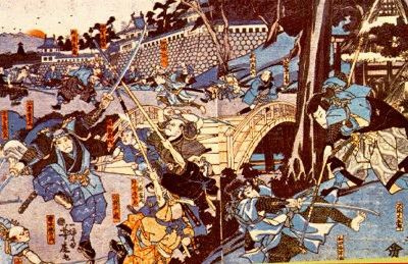 Tenshō Iga oorlog - tussen twee ninja clans