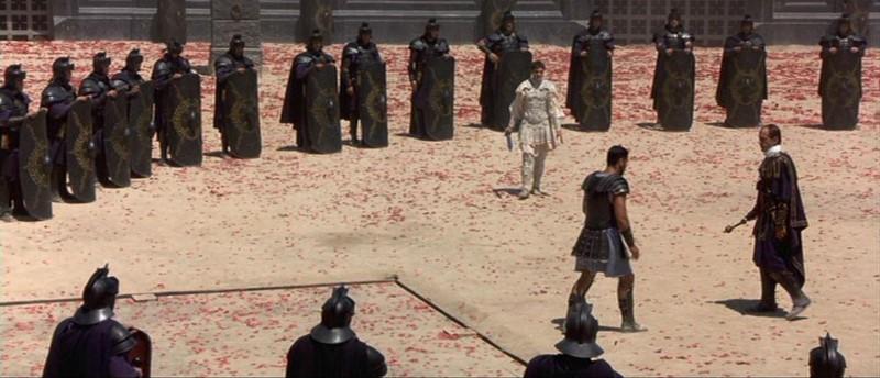 commodus als gladiator