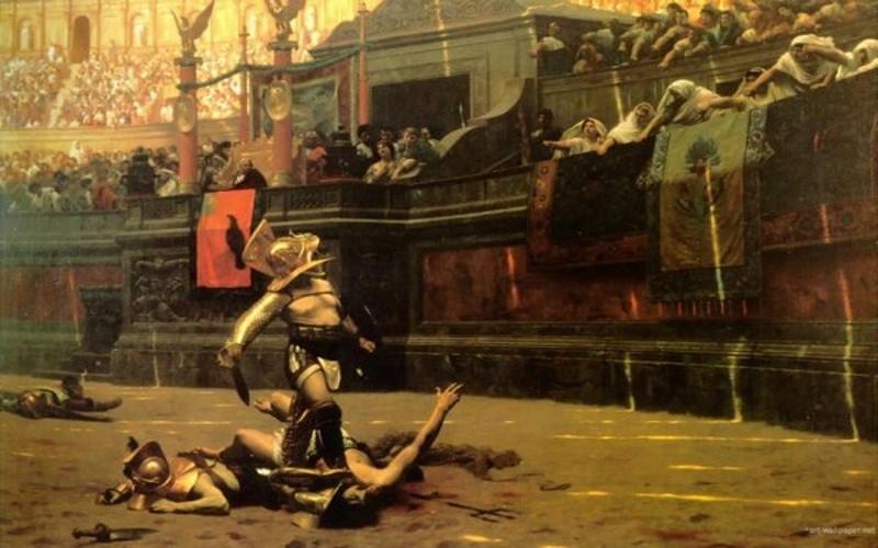 flamma - een van de beroemdste gladiatoren