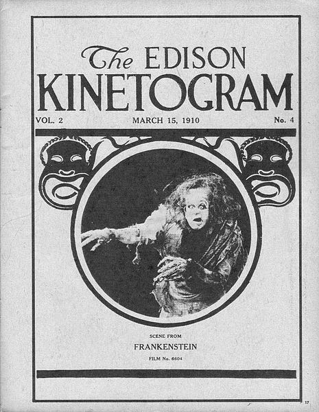 frankensteinfilm uit 1910