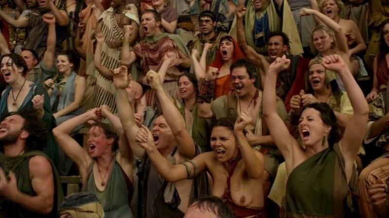 gladiatoren rocksterren en groupies