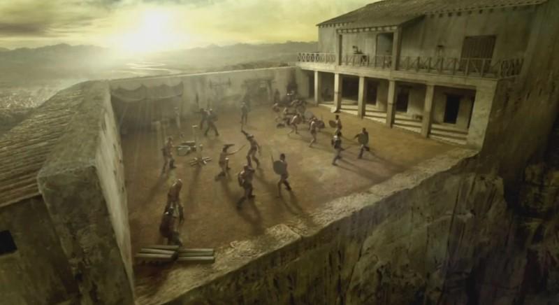 ludus - trainingsplek voor de gladiatoren