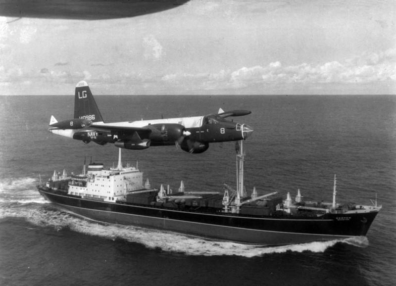 sovjetschepen tijdens de cubacrisis