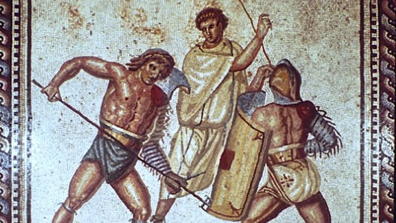 summa rudis - scheidsrechter van de gladiatoren