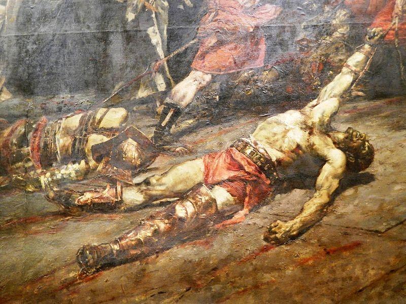 toch weer meer doden bij gladiatoren gevechten