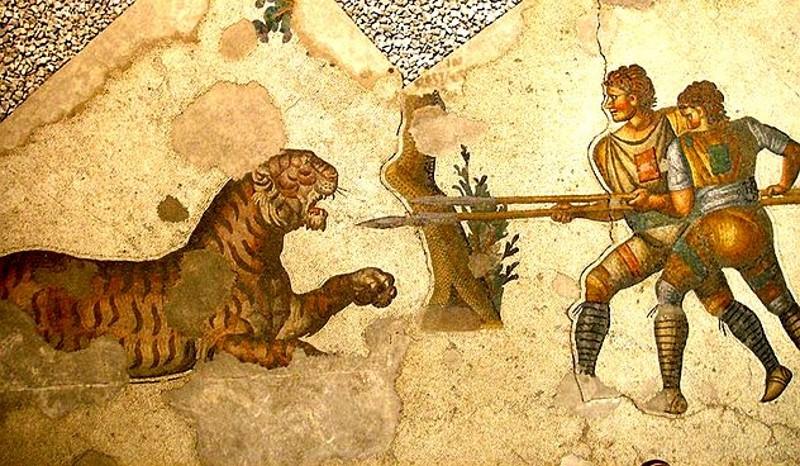 venatores - gladiatoren die vechten tegen dieren