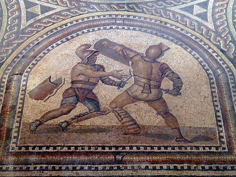 soms waren gladiatoren vrijwilligers