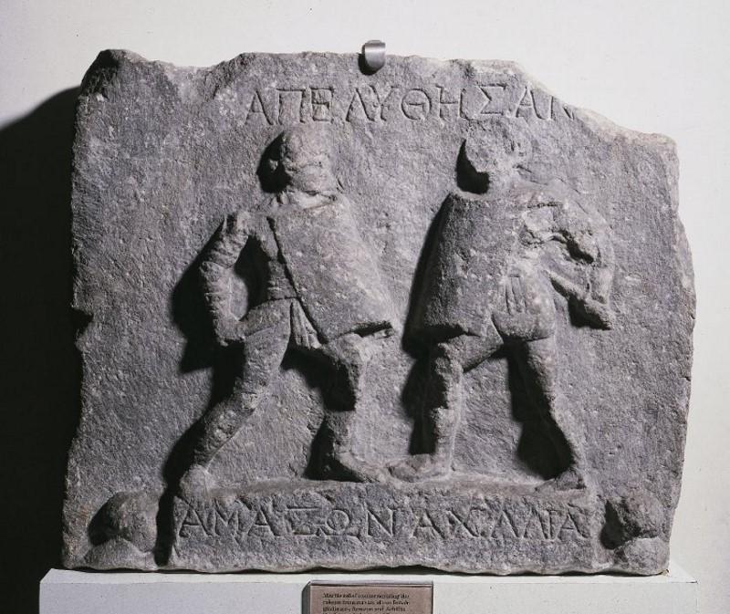 vrouwlijke gladitoren