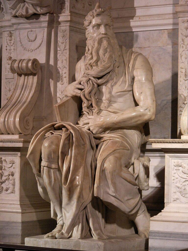 Mozes van michelangelo
