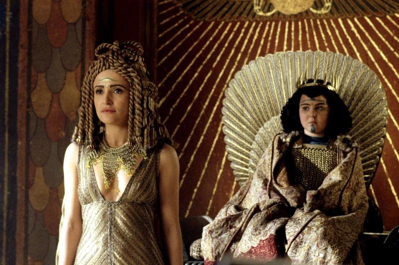 Ptolemy XIII en cleopatra