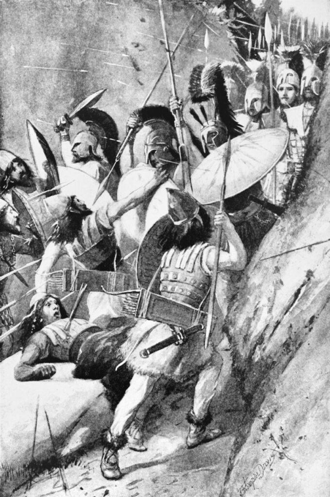 Slag bij Thermopylae