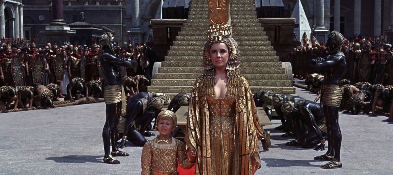 aankomst in rome van cleopatra