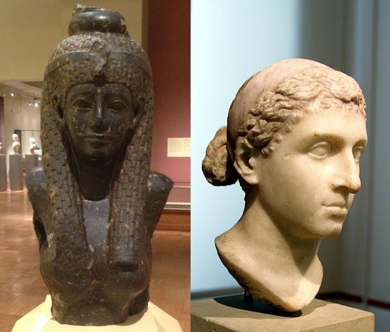 buste cleopatra - was ze wel of niet knap