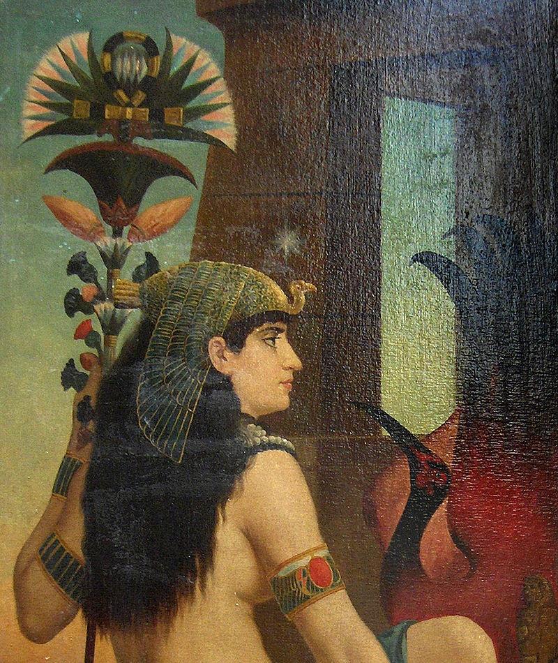cleopatra de nieuwe isis