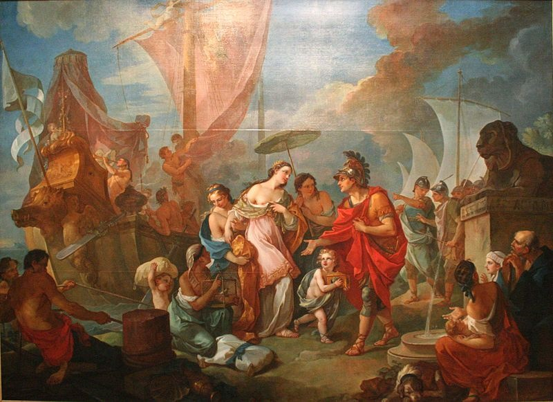 cleopatra en marcus antonius