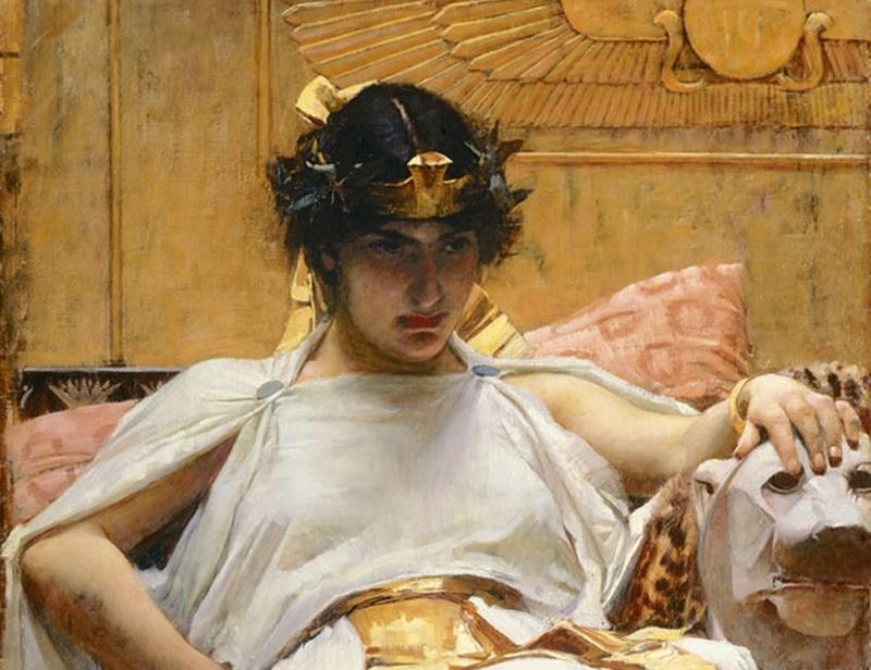 cleopatra niet egyptisch