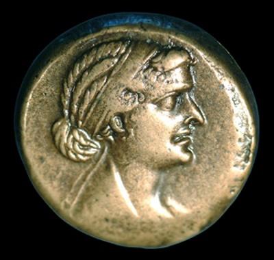 cleopatra toch niet zo knap bewijzen munten