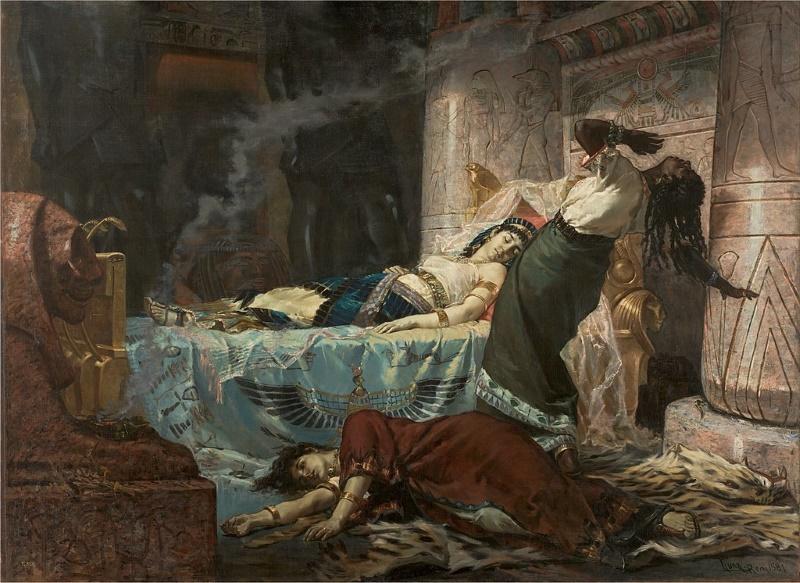dood van cleopatra