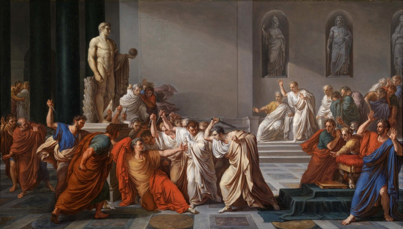 dood van julius cesar