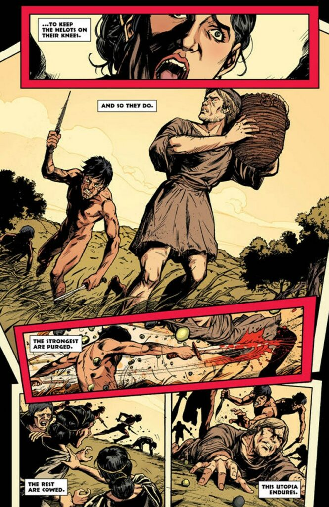 graphic novel three - sparta