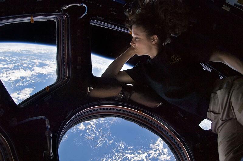 lichamelijke veranderingen in de ruimte