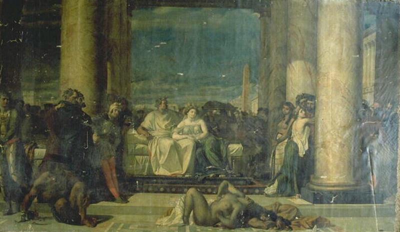 marcus antonius geobesseerd door cleopatra