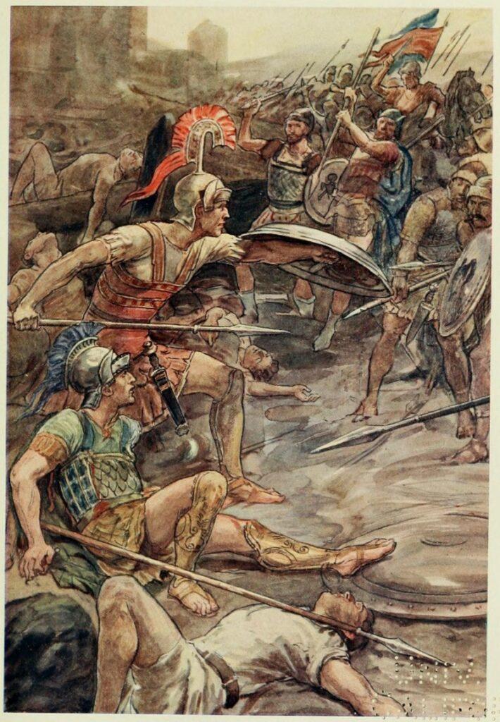 val van de spartanen