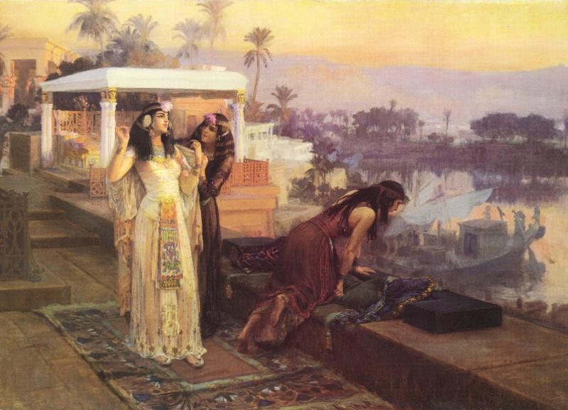 wilde nachten met cleopatra