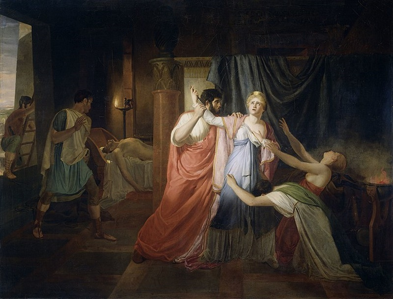 zelfmoord van marcus antonius