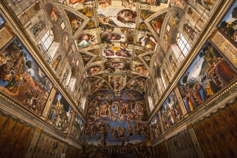 Sixtijnse Kapel plafond