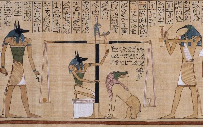 egyptische hel