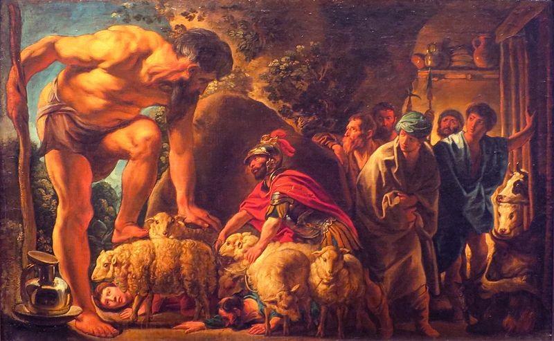Polyphemus en odysseus