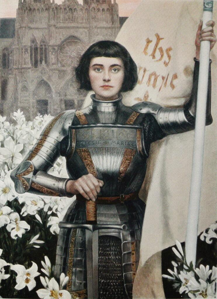 Jeanne_d'Arc bob kapsel