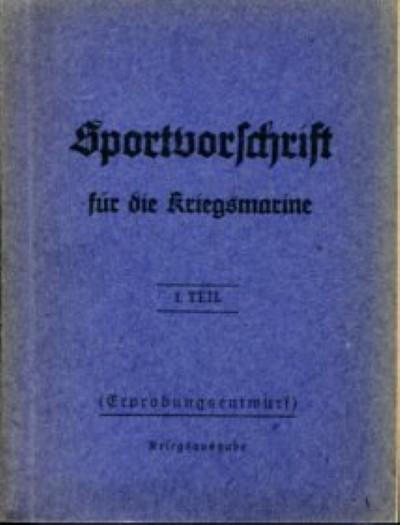 Sportvorschrift für die Kriegsmarine