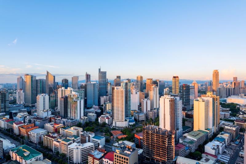 manilla - dichtbevolkte stad