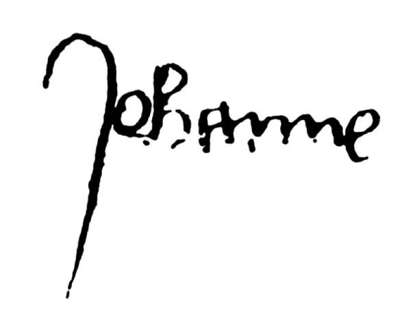 handtekening Jeanne d'Arc