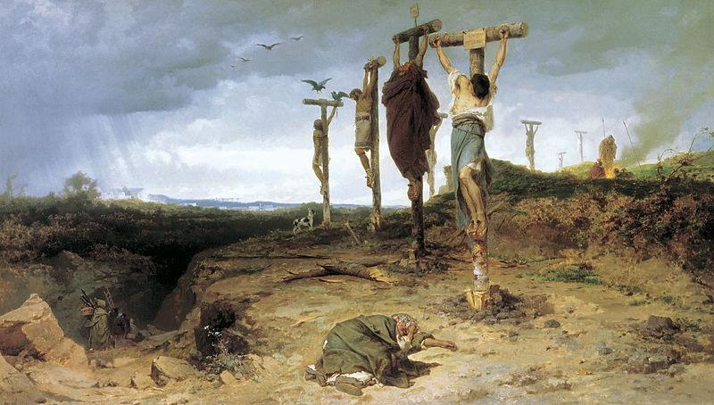 kruisiging gladiatoren