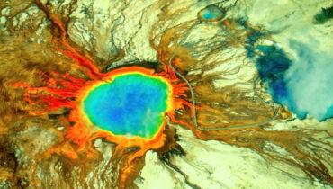 Leven boven vulkanische hotspot