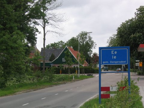 ee kortste plaatsnaam van nederland