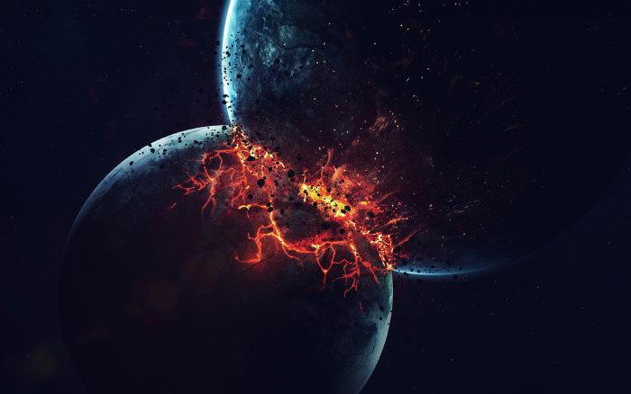 einde van het heelal