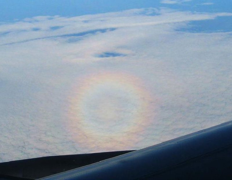 regenboog is een cirkel