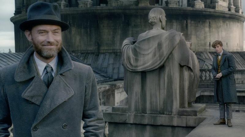 Fantastic Beasts The Crimes of Grindelwald - jude law als dumbledore