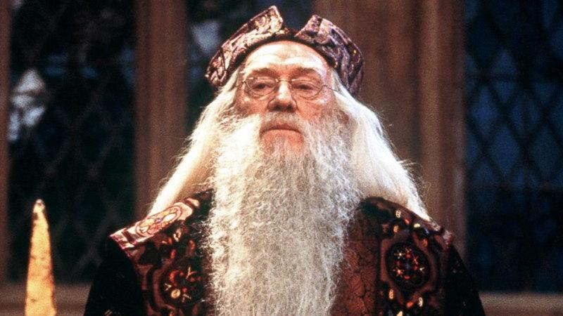 Richard Harris de eerste dumbledore
