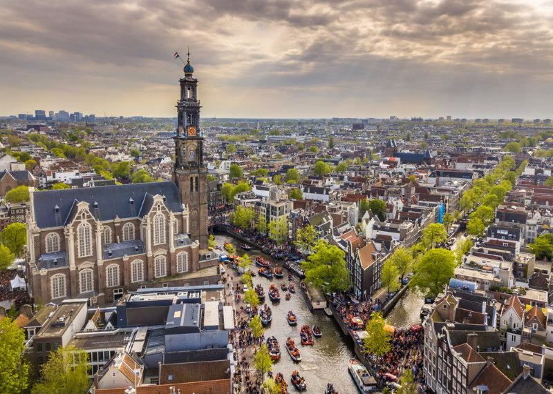 amsterdam - de grootste stad van Nederland